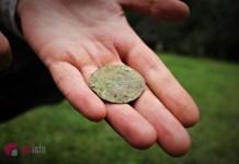 Знахідки виявлені під час розкопок. Фото Олени Ляхович