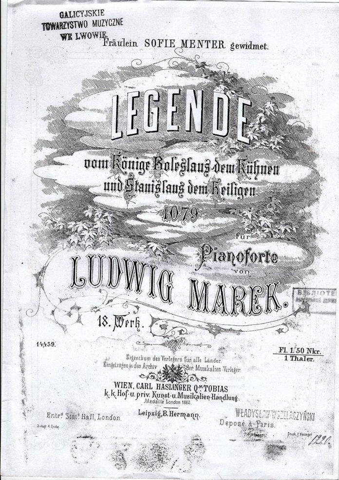 Обкладинка «Легенди про Болєслава Хороброго і святого Станіслава»