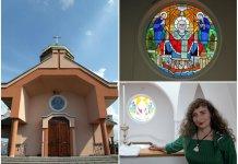У Відниках в церкві святого Миколая освятили новий вітраж