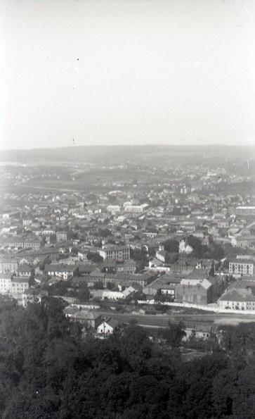 Вид Львова. Фото Анатолія Васильківського, 1956 р.