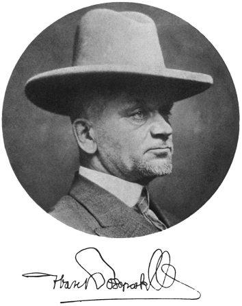 Фотопортрет Івана Боберського. Світлина з автографом діаспорного періоду