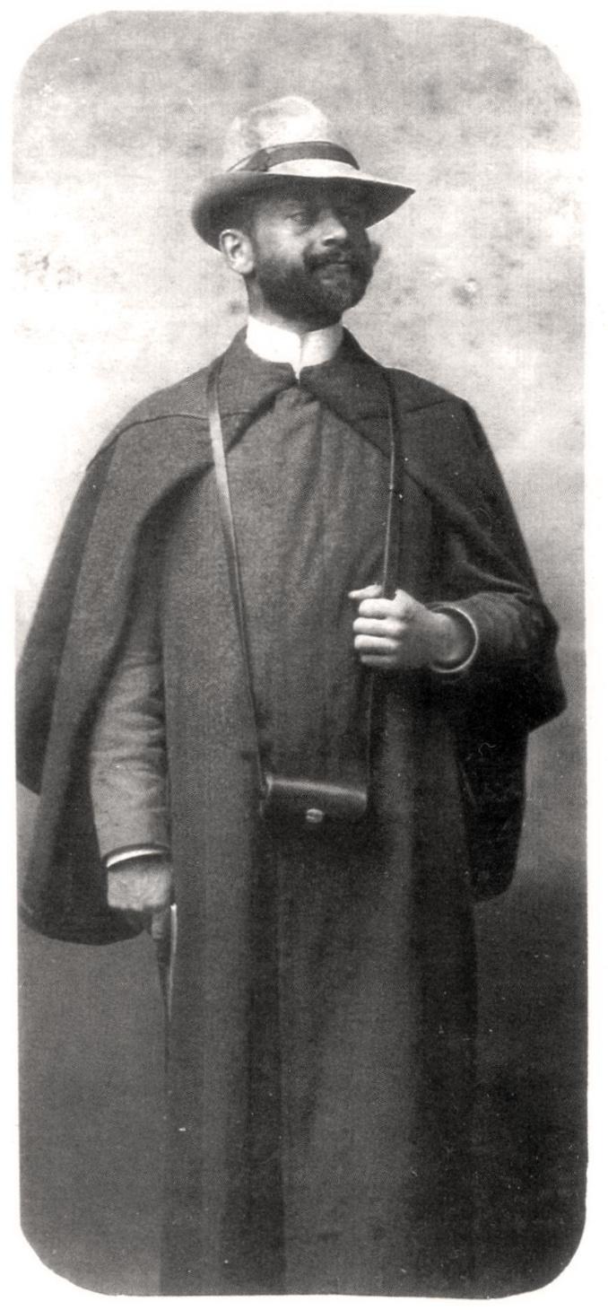 Фотопортрет Івана Боберського – професора Академічної гімназії у Львові. 1912 р.