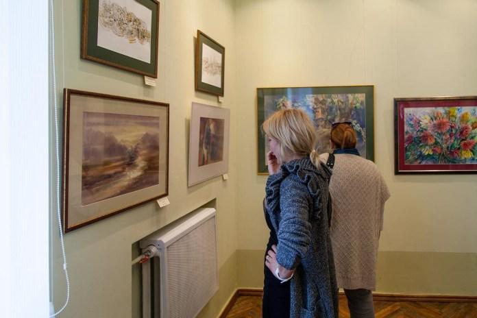 Презентацієя творчих робіт Міжнародного симпозіум з акварелі «Тиждень акварельної майстерності у Львові» (The International Symposium «LVIV Watercolor Week Workshop»).