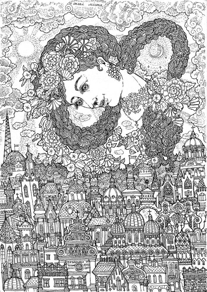 Ангел над містом. Тетяна Казанцева