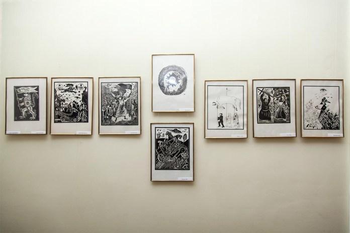 """Відкриття виставки Остапа Гончара """"У світі графіки та живопису"""""""