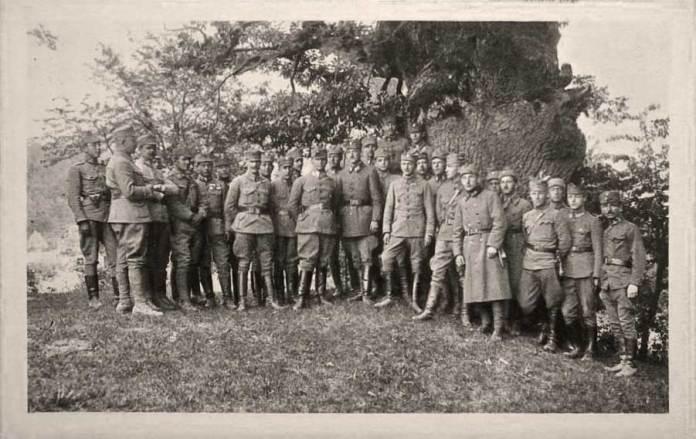 Верин. Збірка Старшин УСС. 7 червня 1918 р.