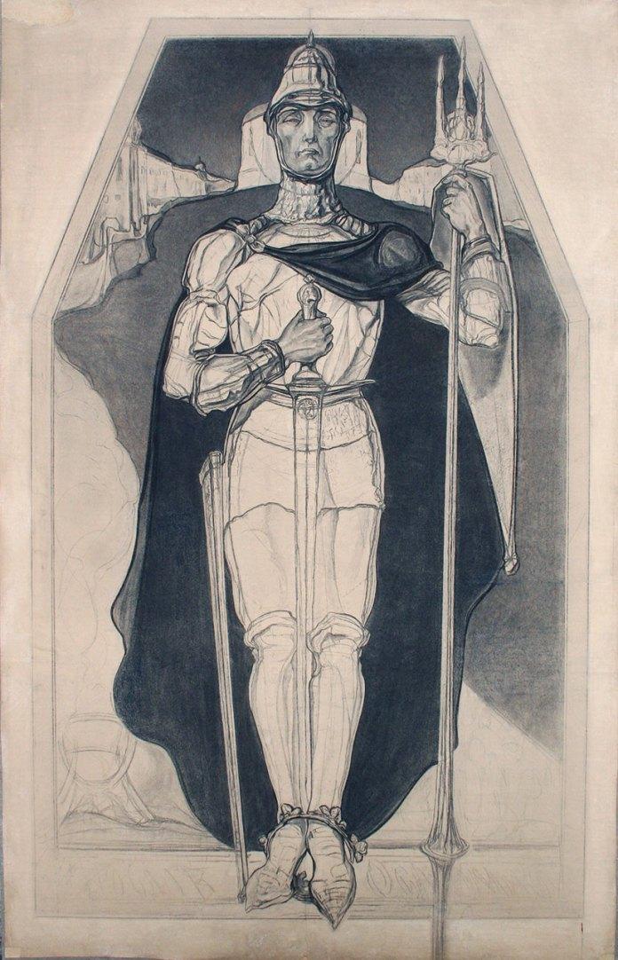 Олекса Новаківський. Князь Ярослав Осмомисл воїн, 1919