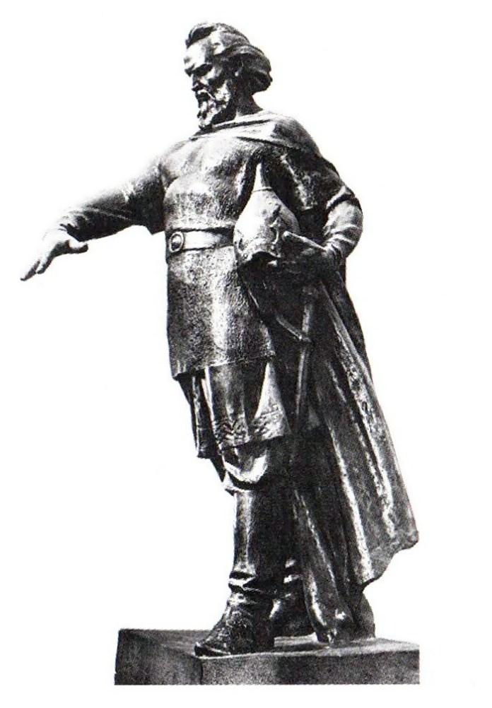 """""""Тут стояти граду Лева"""". Скульптура Теодозії Бриж"""