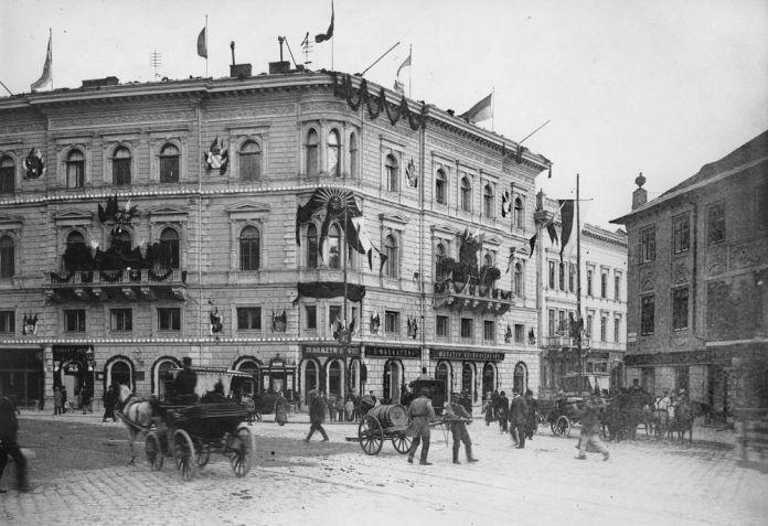 Земельний іпотечний банк у Львові (пл. Галицька, 15)
