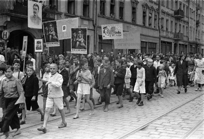 Львів, фото 1944 року