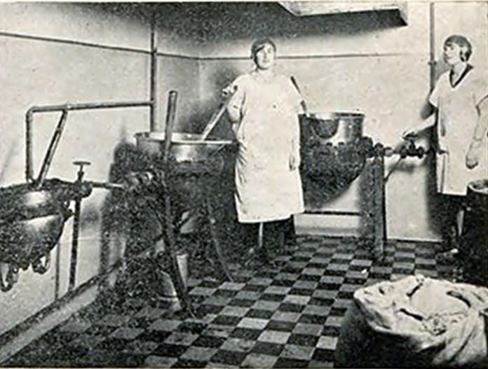 "Фабрика ""Фортуна Нова"". Виріб цукорок дражетових. 1930 р."