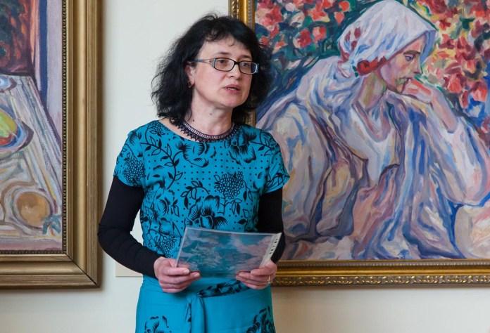 Завідувач Художньо-меморіального музею Олекси Новаківського Ірина Різун