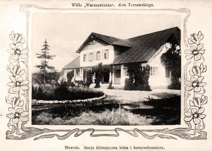 """Вілла """"Варшав'янка"""" доктора Тарнавського. Кумисо-гідропатичний курорт у Славуті."""