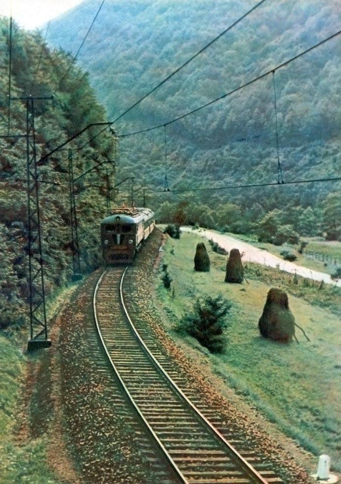Карпатські дороги. Фотограф Микола Федорович Козловський.