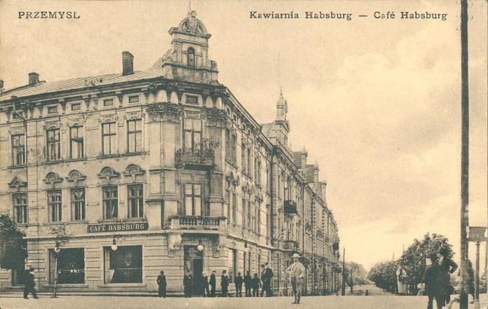 Перемишль – кафе «Габсбург». Джерело: Бібліотека «Polona».