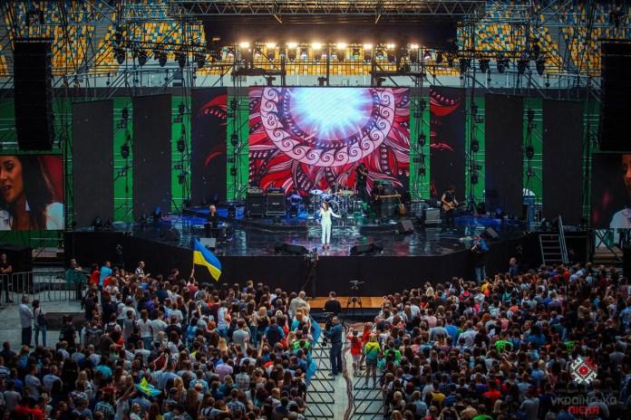Концерт телепроекту «Українська пісня»