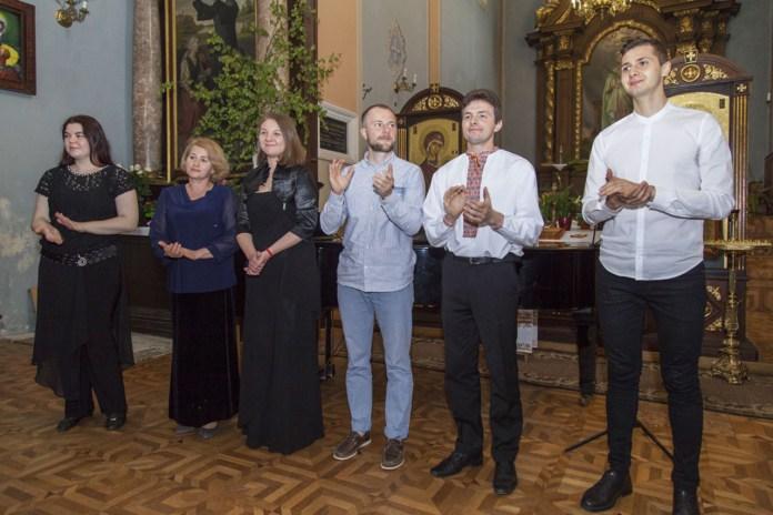 Учасники концерту на підтримку Теодора Крижанівського