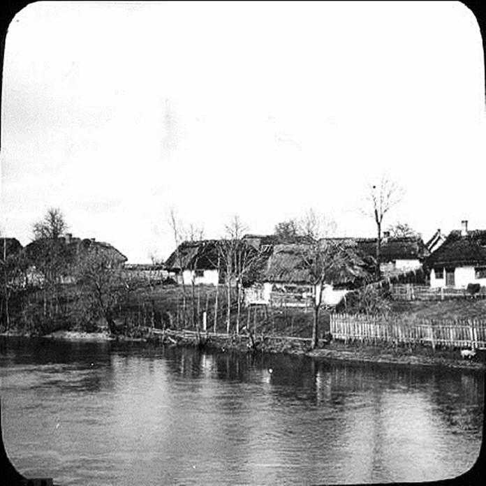Село Мости, Городоцький р-н, Львівської області, 1906 р. Фото: Фріц Вільгельм фон Ессен