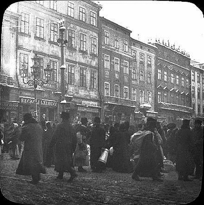 Львів, 1906 р. Фото: Фріц Вільгельм фон Ессен