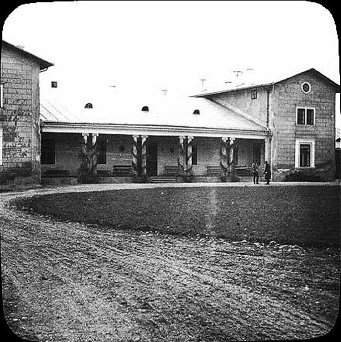 Село Миклаші́в Пустомитівському районі Львівської області. 1906 р. Фото: Фріц Вільгельм фон Ессен