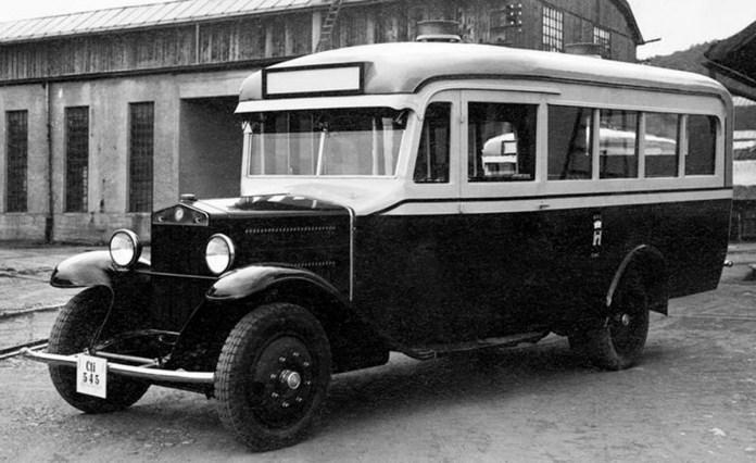"""Муніципальній автобус """"Fiat"""". 1934 р."""