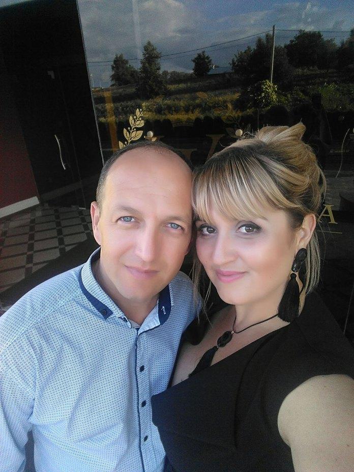 Наталя Іваницька з чоловіком