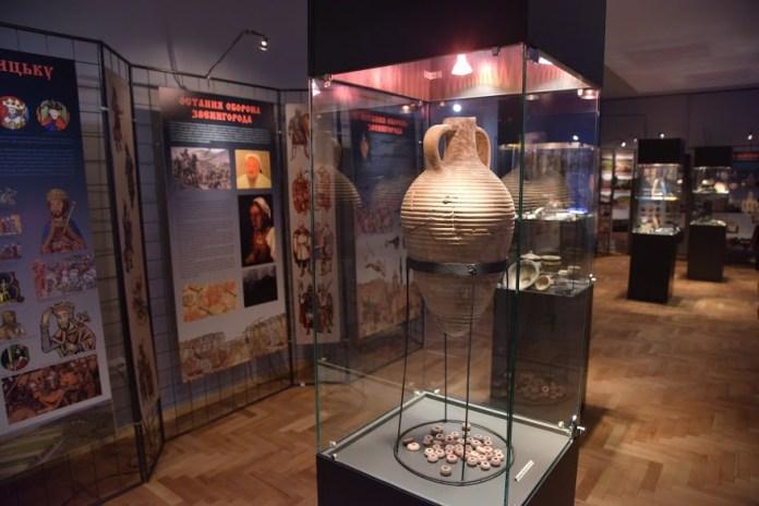 Експозиція Музею історії давньоруського міста Звенигород