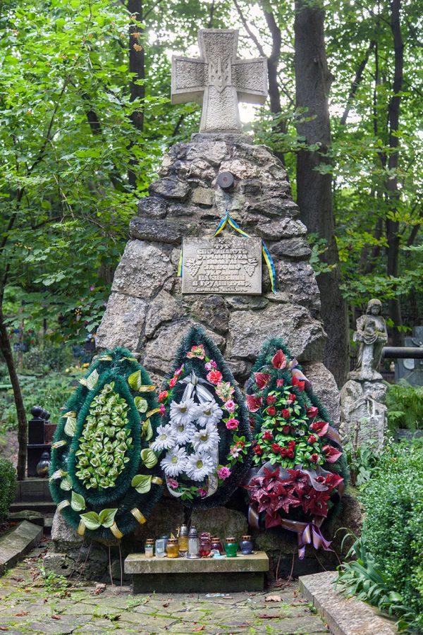 Стрілецьке поховання на цвинтарії Старого Знесіння, 2018 р.