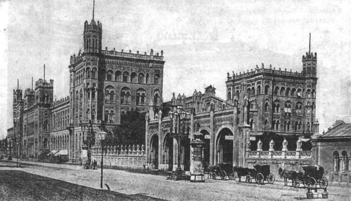 Віденський Північний вокзал, звідки відправлялися потяги до Львова. Початок ХХ ст.