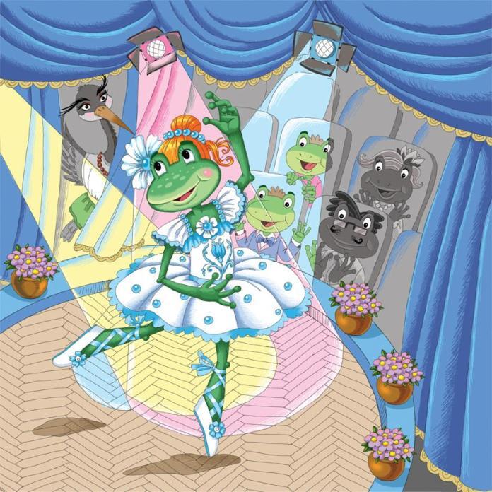 Ілюстрація Катерини Іванової до нової книги Лесі Кічури «Добрі мамині казки. МАНДРИ»