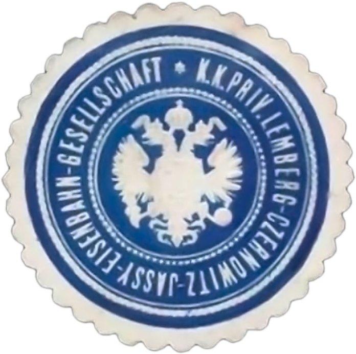 Герб Львівсько-Чернівецько-Ясської залізниці