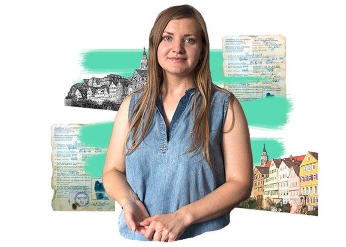 Ольга Тибор, голова ГО «Товариство німців Волині»