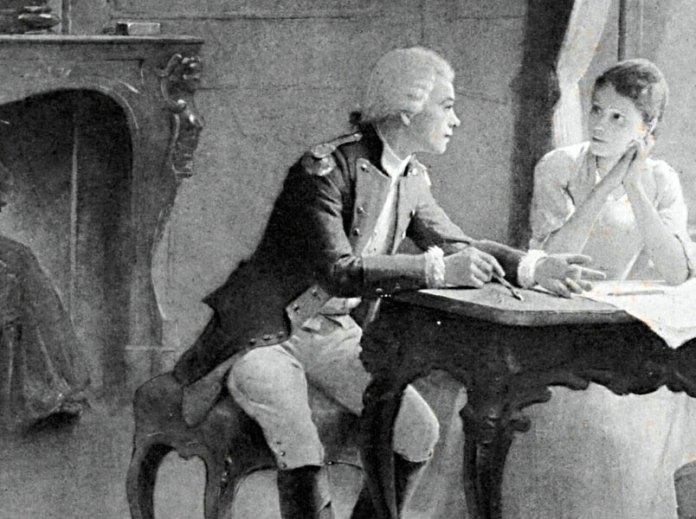 Людвіка Любомирська і Тадеуш Костюшко. Автор невідомий, XVIII ст.