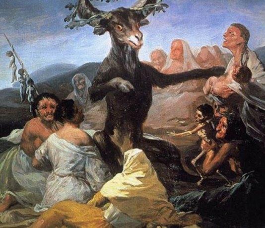"""""""Шабаш відьом в країні басків"""" (Франсиско Гойя, 1797–1798)"""