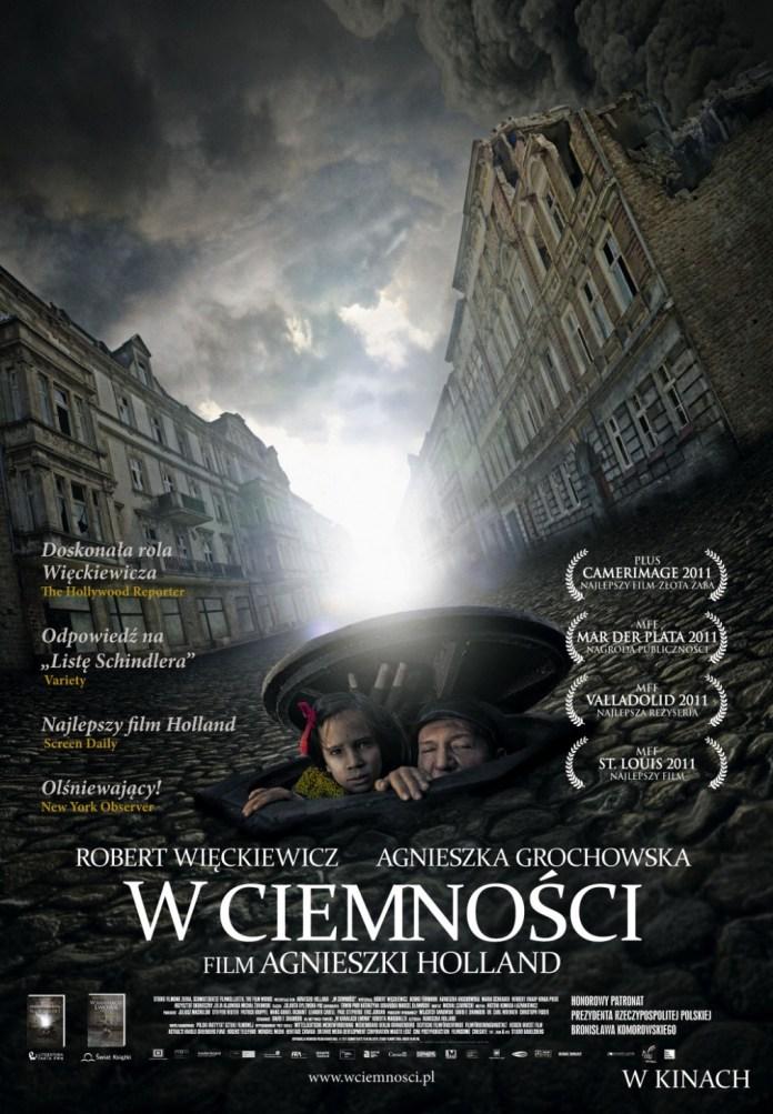 """Постер фільму """"У темряві"""" (""""W ciemności"""")"""