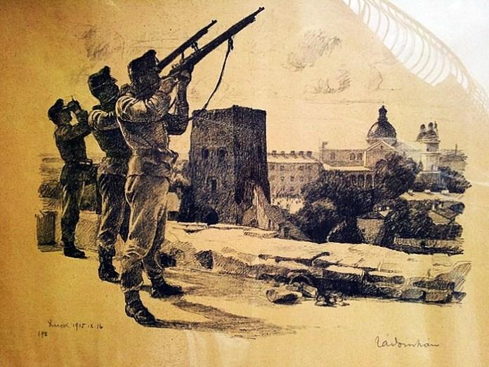 Іштван Задор, 16 вересня 1915