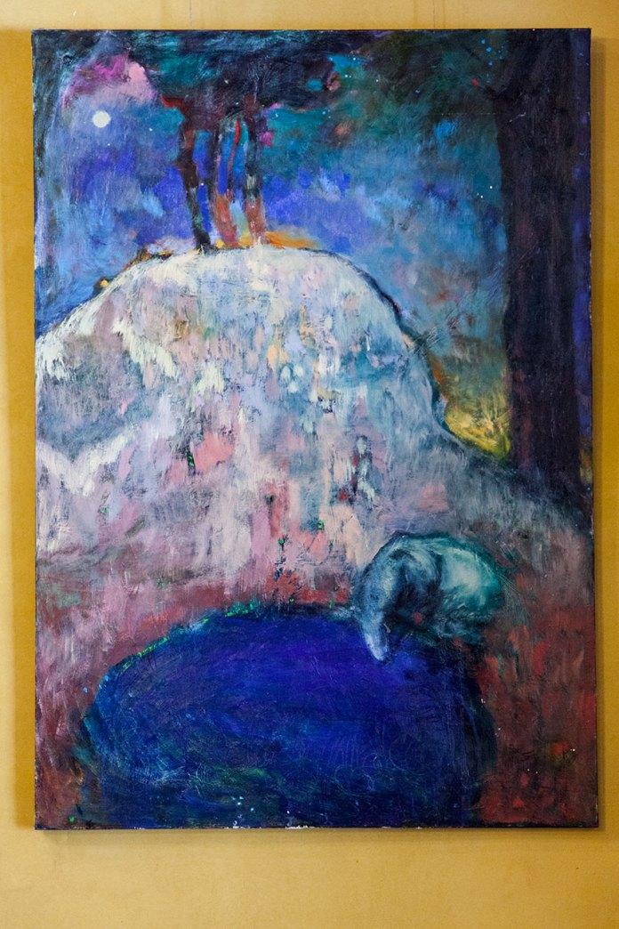 """Експозиція виставки живопису Катерини Резніченко """"Едемський сад"""""""