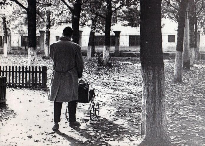 Скверик у Роксі. 1963 рік. Фото Володимира Руденка