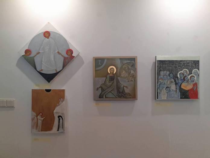 Експозиція виставки Х Міжнародного іконописного пленеру Новиця 2018: ЧАС ЖИТТЯ / ЧАС СМЕРТІ