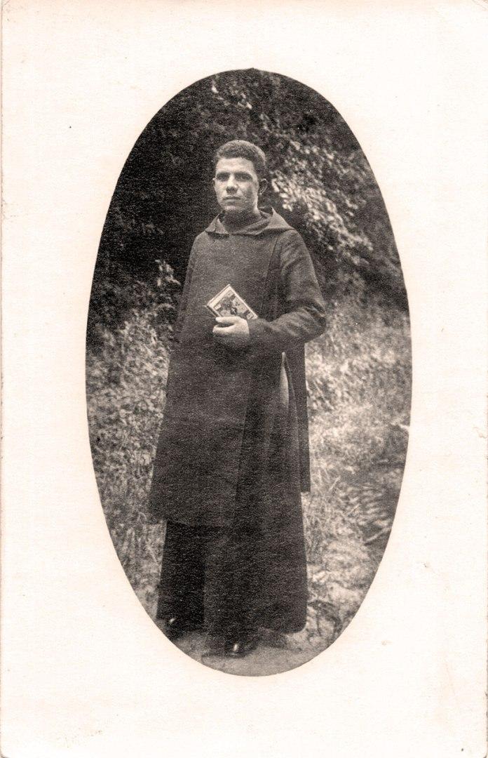 Монах-студит. Фото з родинного архіву Матковських