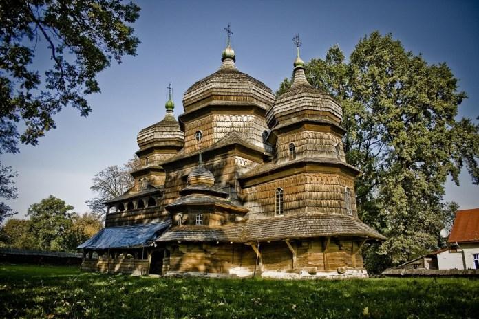 Дрогобич. Церква святого Юра