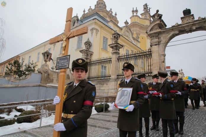 Чин похорону члена проводу ОУН Омеляна Коваля