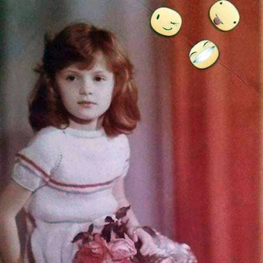 Ліля Ваврін в дитинстві