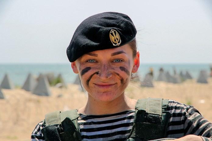 Прес-офіцер 36 бригади морської піхоти, старший лейтенант Олександра Безсмертна