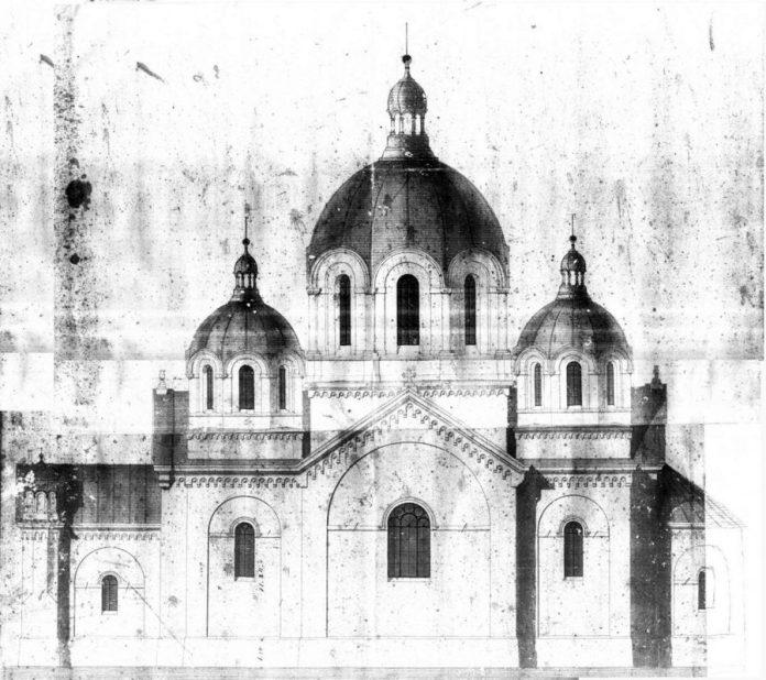 Проект церкви для Великих Мостів (1883)
