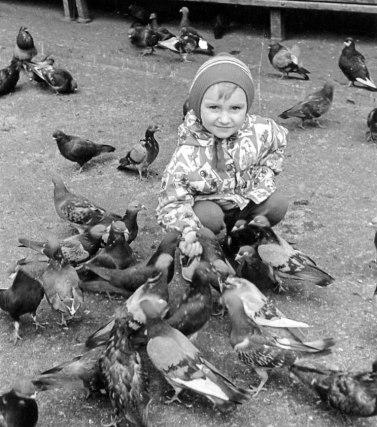 Андрій Заліско в дитинстві