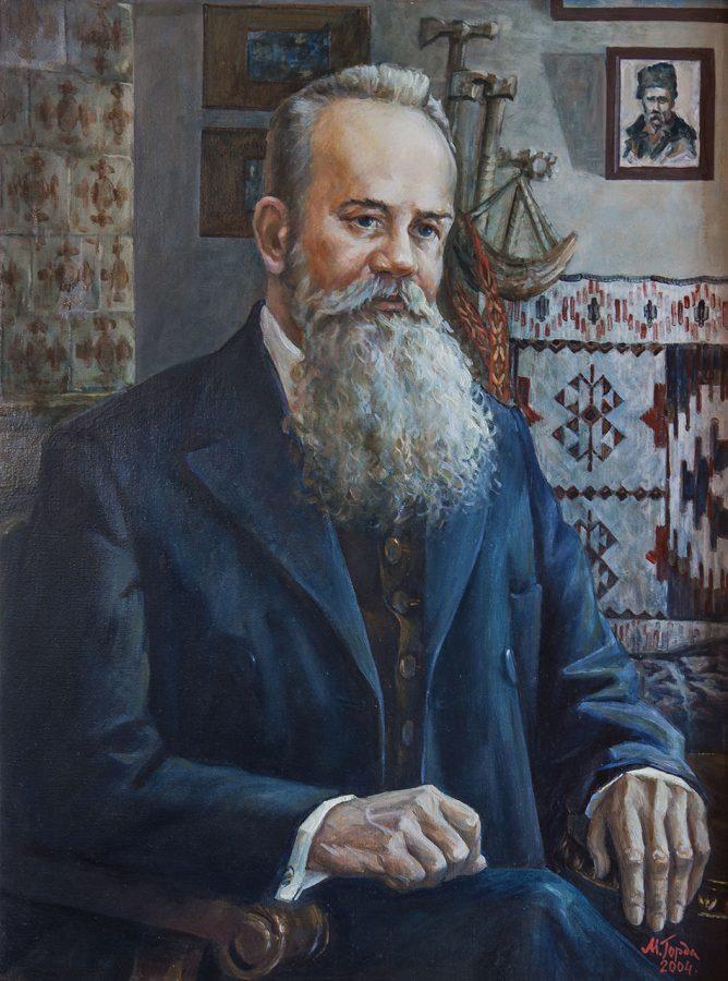 Микола Горда. Михайло Грушевський