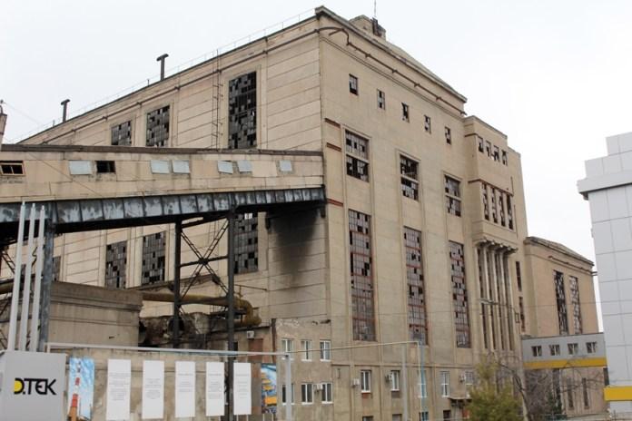 ТЕЦ в місті Щастя Новоайдарському районі Луганської області, 2015 рік