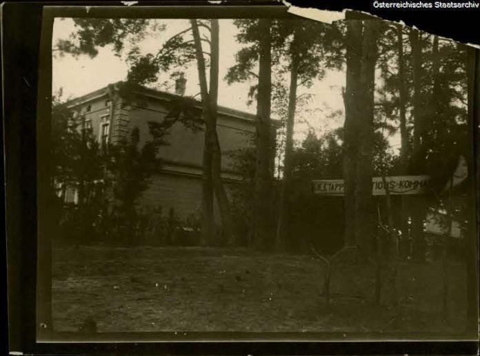 Великі Мости, фото часів Першої світової війни