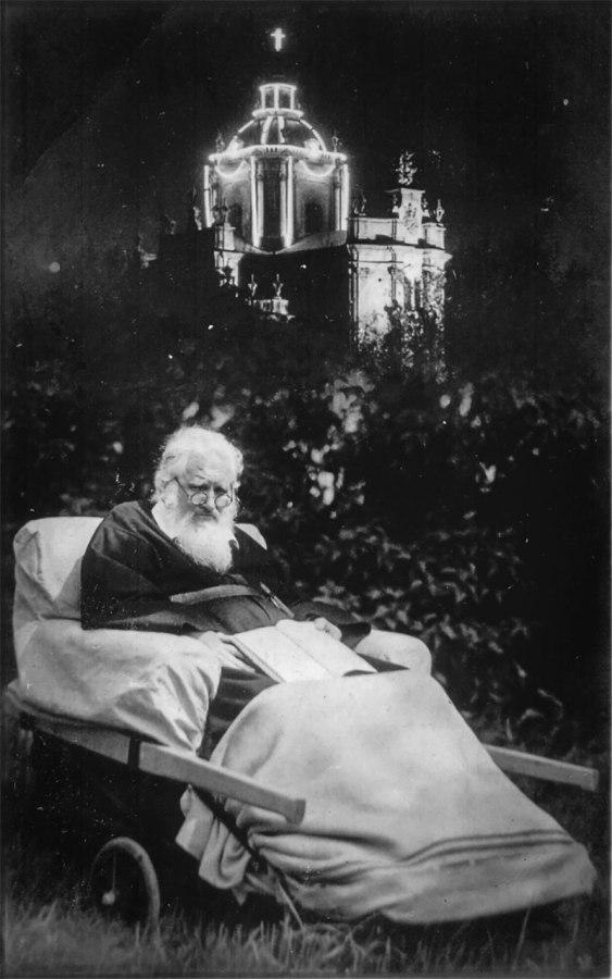 Митрополит Андрей Шептицький. Фото М. Шалабавки, 1938 рік